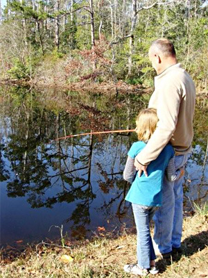 Your invited to fish any time in the pond located right on the farm